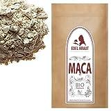 EDEL KRAUT | BIO ROTES MACA PULVER Premium Superfood 100% MACAWURZEL ROT 500g