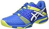 Asics Gel-Blast 7, Zapatos de Balonmano Americano para Hombre, (Directoire Blue/Energy Green/White), 40 EU