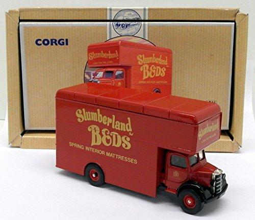 Bedford-serie (Corgi 1/50 Scale Diecast 97085 - Bedford O Series Pantechnicon - Slumberland)