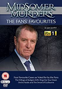 Midsomer Murders The Fans' Favourites [DVD]: Amazon co uk