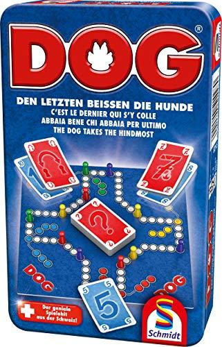 Schmidt Spiele 51428 Dog, Bring Mich - Juego de Mesa (en Caja de Metal)