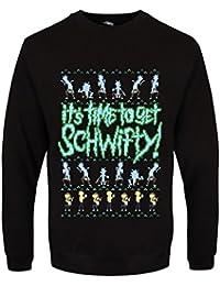 Sweat-shirt It's Time To Get Schwifty! Noël Homme Noir
