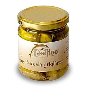 Filetti di Baccalà grigliato 212 ml