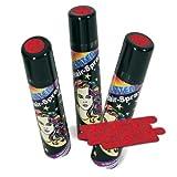 FASCHING 30203 Hairspray Glitter rot Haarspray +Glitzer +Farbe NEU/OVP