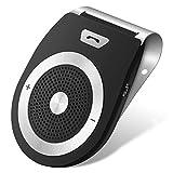 Auto Freisprecheinrichtung Bluetooth 4.1 Kfz Freisprechanlage Visier Car Kit für Freisprech Anrufe GPS Musik usw. von LOETAD