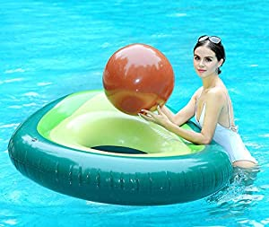 Aguacate Gigante Inflable con Pelota