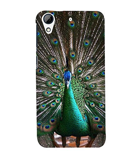 Fiobs Peacock Of Feathers Mor Bird Beautiful Krishna Mobile Cover Angry Designer Back Case Cover For Htc Desire 626G :: Htc Desire 626 Dual Sim :: Htc Desire 626S :: Htc Desire 626 Usa :: Htc Desire 626G+ :: Htc Desire 626G Plus