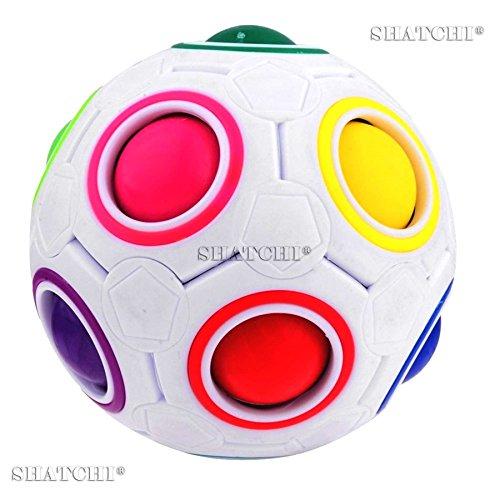 Gifts 4 All Occasions Limited SHATCHI-347 - Puzzle con forma de bola de arcoíris