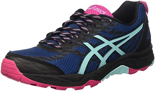 Asics Gel-Fujitrabuco 5, Scarpe da Trail Running Donna Blu (poseidon/aruba Blue/sport Pink)