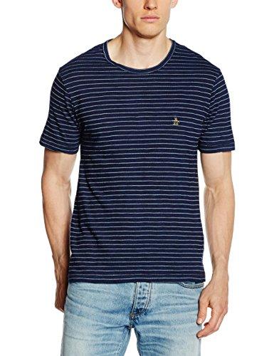 original-penguin-lactar-tee-camiseta-para-hombre-azul-rinse-wash-small