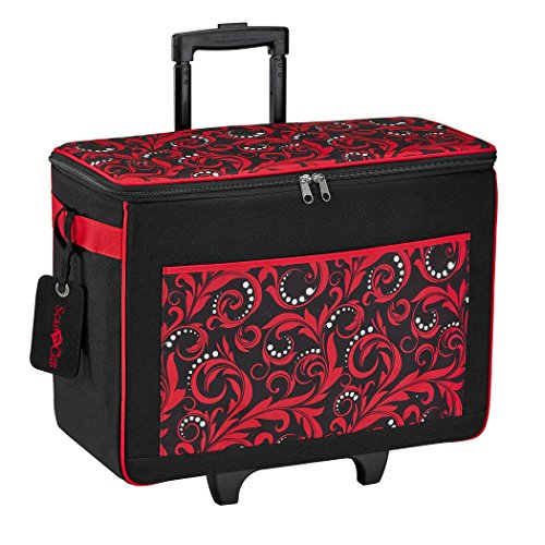 "Preisvergleich Produktbild Brother ScanNCut Rolling Tote Bag-18""X21""X11"" Red/Black"