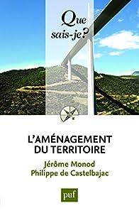 """Afficher """"L'aménagement du territoire"""""""
