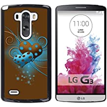 Graphic4You Beautiful Love Diseño Carcasa Funda Rigida para LG G3