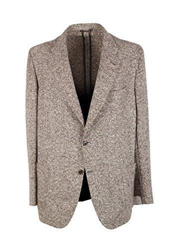 Preisvergleich Produktbild Kiton CL - Brioni Piuma Brown Sport Coat Size 58 / 48R U.S. in Wool Cashmere