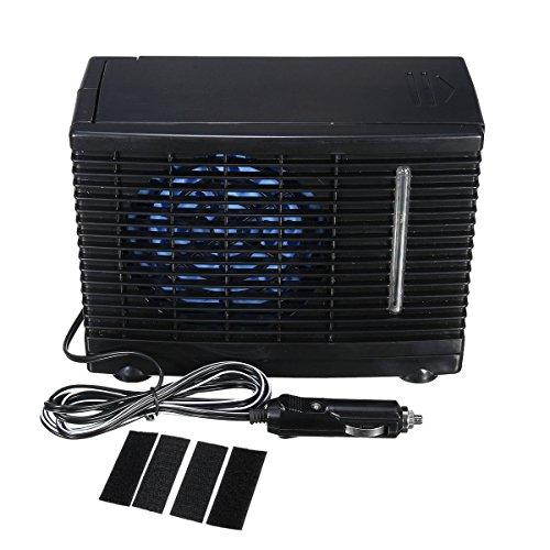 24V portátil casa coche refrigerador ventilador de refrigeración de agua hielo por...