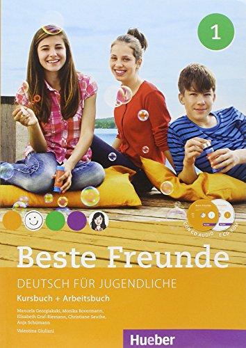 Beste freunde. Kursbuch-Arbeitsbuch. Per la Scuola media e CD-ROM. Con CD Audio. Con e-book. Con espansione online: 1