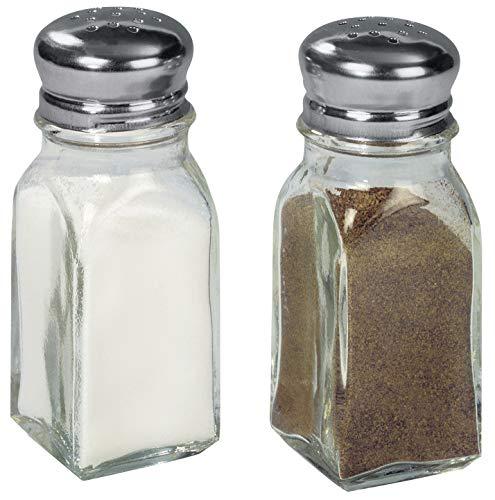 FACKELMANN Menage Pfeffer/Salz, Glas, transparent