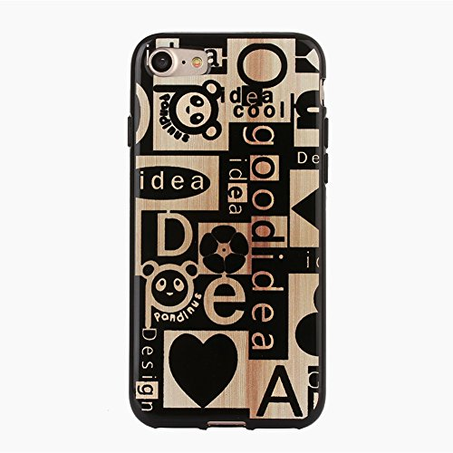 "iPhone 7 Hülle,Sunroyal iPhone 7 4.7"" Muster TPU Case Schutzhülle Silikon Crystal Case Durchsichtig,Bunt Gold Muster Luxus Glitzer Glanz Kristall Crystal Transparent Silikon Schutzhülle Ultradünnen Kr Panda"