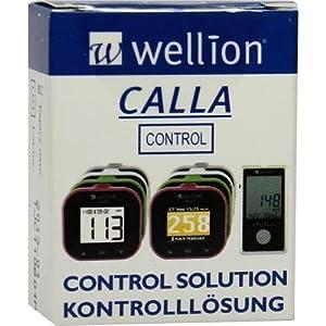 WELLION CALLA Kontrolllösung Stufe 1 1 St