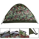 NIRVA SGD Polyester Anti-UV Fully Sun Shade Double Layers Folding Camping Tent
