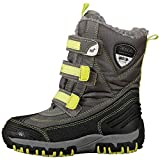 Kappa BEN Tex KIDS, Unisex-Kinder Kurzschaft Stiefel, Grau (1633 grey/lime), 31 EU (12.5 Kinder UK)