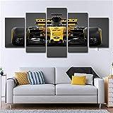 Aucun Cadre HD imprimant des peintures décoratives, Sports motorisés 5 Sortes