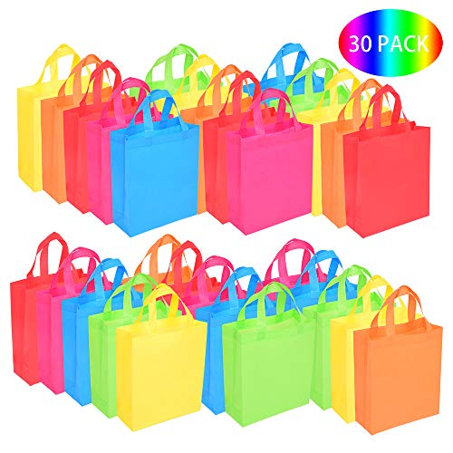 BOENFU 30 Pcs Party Bags with Ha...