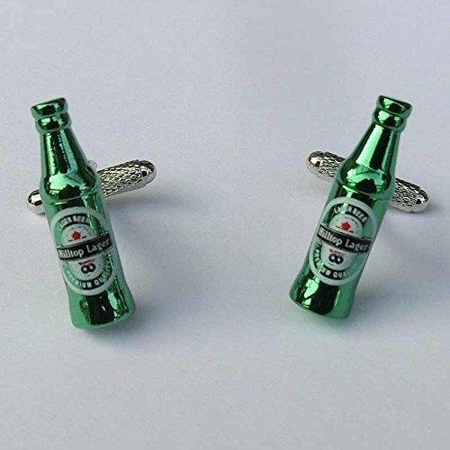 Classic Verde birra gemelli bottiglia in confezione regalo-Onyx-art London ck1001