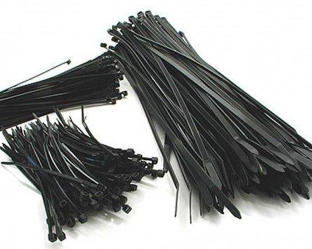 Lot de 100 serre-câbles.