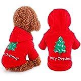 Best Imagen árboles de navidad - Idepet Santa mascota gato perro traje feliz árbol Review