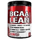Evlution Nutrition BCAA Lean Energy - energetisierende Aminosäure für Muskelaufbau und Ausdauer, mit einer Fatburner Rezeptur, 30 Portionen (Früchtepunsch)