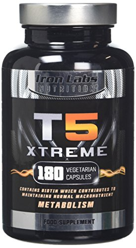 T5 Xtreme (180 Capsules) | Thermogenic | Fat Burner Supplement – support Weight Loss Diets | UK Made