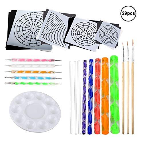 OOTSR 29 piezas kits de pintura Mandala