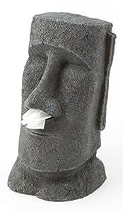 Rotary Hero - Moai Taschentuchbox / Taschentuchspender / Kosmetiktücherbox