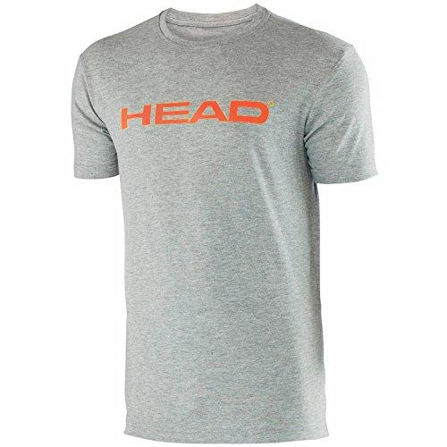 "Head Herren T-Shirt ""Transition Ivan"" Gris / Coral (GHCO)"