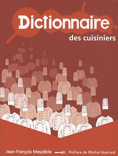 Dictionnaire des cuisiniers