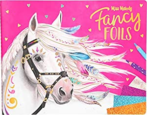 Depesche 10352 Libro para Colorear Fancy Foils, Miss Melody, Multicolor