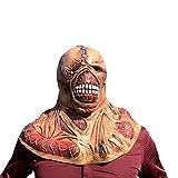 thematys Nemesis Horror Zombie Maske - perfekt für Fasching, Karneval & Halloween - Kostüm für Erwachsene - Latex, Unisex Einheitsgröße