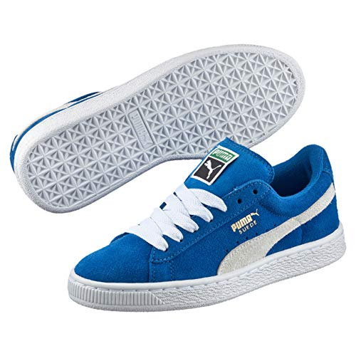 Puma Suede, Unisex-Kinder Sneakers, Blau (snorkel blue-white 02), 39 EU (6 Kinder UK)