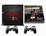 Formula 1 F1 Red Bull Racing PS4 Skin Sticker Vinyl Aufkleber Schutzfolie zum Konsole & 2 Controller NEU