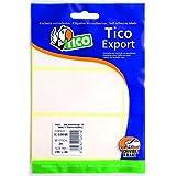Tico E-2214A. Bolsa de 450 etiquetas blanca escribible a mano 22x14 mm, 10 hojas
