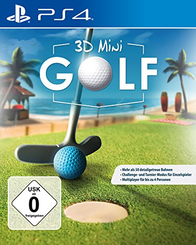 3D Mini Golf - Minigolf für die ganze Familie - PS4 [PlayStation 4] (Golf Playstation 4 Für The Club)
