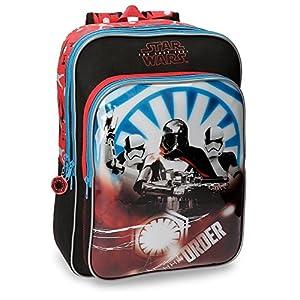 510I8BOAO%2BL. SS300  - Star Wars The Last Jedi Mochila escolar, 43 cm, 28.9 Litros, Multicolor