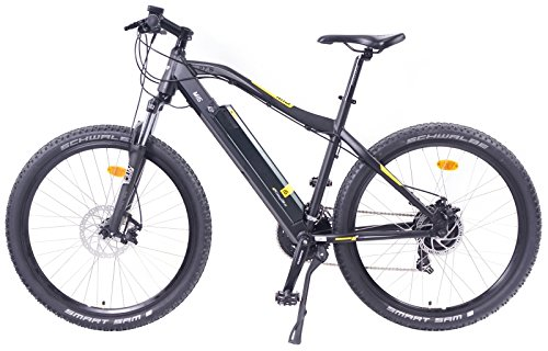EASYBIKE MI5-650 E-bike Electric Bicycle 27.5 Inch Wheels 13Ah 396WH Electric Mountain Bike Black