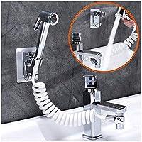 Soporte de baño de baño y champú aerosol, Cabeza de ducha con el filtrado de encendido / apagado Pausa Cambiar el sistema del grifo en la ducha / ducha for el lavado del cabello XWH16-8-1-L QIANGQIANG