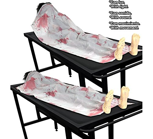 Guirca Leiche 160cms - Halloween, Lapidas, Esqueletos y Calaveras