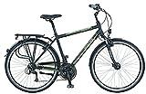 Prophete Herren Fahrrad Alu-Trekking 28 Zoll ENTDECKER 2.01, mattschwarz, M, 53505-1111