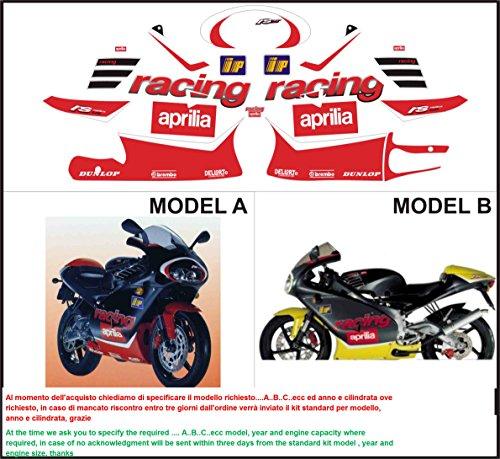 Aufkleber Satz Sticker Set Moto Gp Aprilia Sr 50 Rs 125