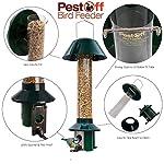 Squirrel Proof Wild Bird Feeder - Roamwild PestOff (Mixed Seed / Sunflower Heart Feeder) 13