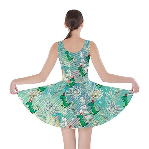 CowCow - Robe - Femme Rose Magenta Floral vert